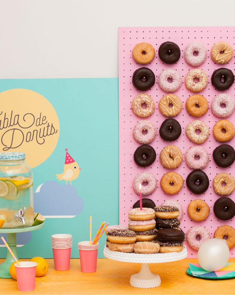 celebraciones tabla-donuts Eventos Txokolate empresas